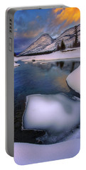 Jasper In The Winter Portable Battery Charger