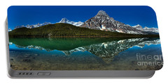 Jasper Waterfowl Lakes Morning Reflections Portable Battery Charger