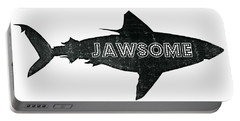 Jawsome Portable Battery Charger by Michelle Calkins