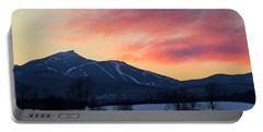 Jay Peak Winter Twilight Portable Battery Charger