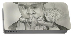 Jay-z Reasonable Doubt 20th Portable Battery Charger by Gregory Taylor