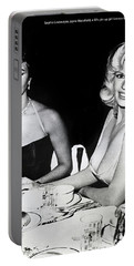 Jayne Mansfield Hollywood  Actress Sophia Loren 1957 Portable Battery Charger