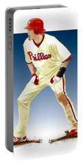 Jayson Werth Portable Battery Charger by Scott Weigner