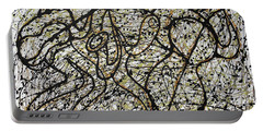 Jazz And Pollock Portable Battery Charger