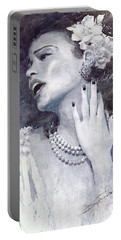 Jazz Billie Holiday Portable Battery Charger