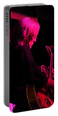 Portable Battery Charger featuring the photograph Jazz Guitarist by Lori Seaman
