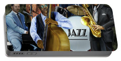 Jazz Jazz Jazz Portable Battery Charger