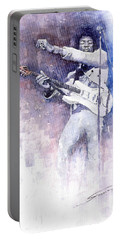 Jazz Rock Jimi Hendrix 07 Portable Battery Charger