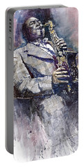 Jazz Saxophonist Charlie Parker Portable Battery Charger