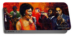 Jazz Song Portable Battery Charger