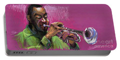 Jazz Trumpeter Portable Battery Charger