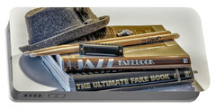 Portable Battery Charger featuring the photograph Jazz by Walt Foegelle