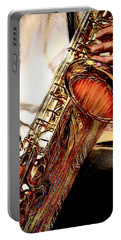 Jazzy Sax Portable Battery Charger