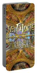 Je Taime Chateau Versailles Peace Salon Hall Of Mirrors Portable Battery Charger