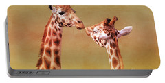 Je T'aime Giraffes Portable Battery Charger