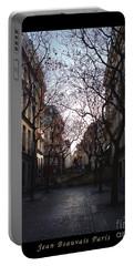 Jean Beauvais Paris Evening Light Portable Battery Charger by Felipe Adan Lerma