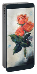 Jeannie's Roses Portable Battery Charger