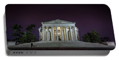 Jefferson At Night Portable Battery Charger