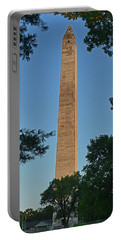 Portable Battery Charger featuring the photograph Jefferson Davis Monument - Fairview Kentucky 001 by George Bostian