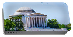 Jefferson Memorial Portable Battery Charger by Anthony Baatz