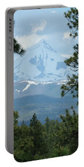Portable Battery Charger featuring the photograph Jefferson Pines by Laddie Halupa