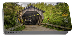 Jeffersonville Covered Bridge Portable Battery Charger
