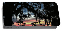 Jekyll Island Georgia Sunset Portable Battery Charger