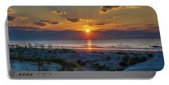 Jekyll Island Sunrise Portable Battery Charger