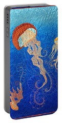 Jellies Of The Sea Portable Battery Charger