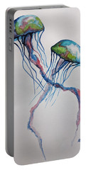 Jellyfish Portable Battery Charger by Edwin Alverio