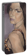 Jenny In Black Portable Battery Charger