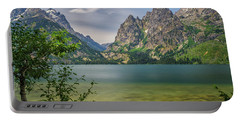 Jenny Lake In The Grand Tetons Portable Battery Charger