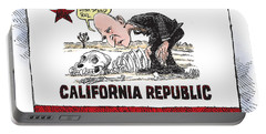 Jerry Brown - California Drought And High Speed Rail Portable Battery Charger