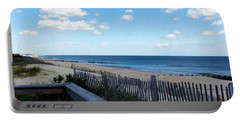 Jersey Shore Portable Battery Charger by Judi Saunders
