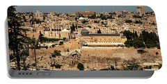 Portable Battery Charger featuring the photograph Jerusalem by Mae Wertz