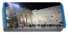 Jerusalem Western Wall - Our Heritage Now And Forever Portable Battery Charger
