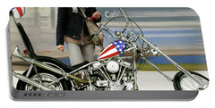 Jessica Alba, Captain America, Easy Rider Portable Battery Charger