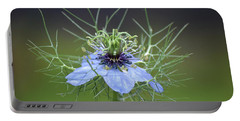 Jester's Hat Flower Portable Battery Charger