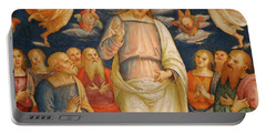 Jesus And The Apostles Portable Battery Charger