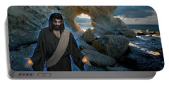 Jesus Christ- And Surely I Am With You Always Portable Battery Charger
