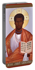 Jesus Christ - Liberator - Rljcl Portable Battery Charger