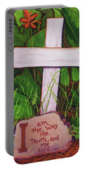 Garden Wisdom, The Way Portable Battery Charger by Jeanette Jarmon