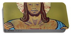 Jesus Is Stripped Portable Battery Charger