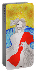 Jesus Messiah Second Coming Portable Battery Charger