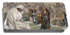 Jesus Wept Portable Battery Charger