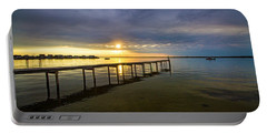 Jetty Four Bayside Sunset Portable Battery Charger