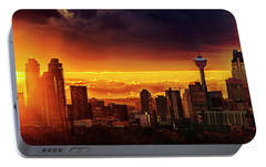 Portable Battery Charger featuring the photograph Jewel Of The Foothills by John Poon