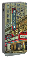 Jewel Of The South Tivoli Chattanooga Historic Theater Art Portable Battery Charger