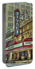 Jewel Of The South Tivoli Chattanooga Historic Theater Portable Battery Charger by Reid Callaway