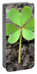Jeweled Clover 3 Portable Battery Charger